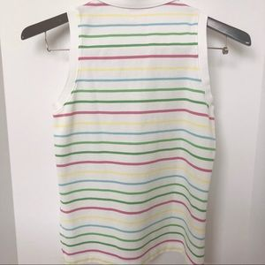 Lilly Pulitzer Tops - Lilly Pulitzer Sleeveless Michelle Polo Top • Sz M
